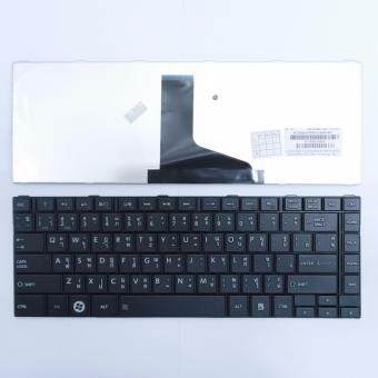 คีย์บอร์ด โตชิบา - Toshiba keyboard (ภาษาไทย) สำหรับรุ่น Satellite L800 L805 L830 L835 L840 L840D L845 M800 M805 M840 C800