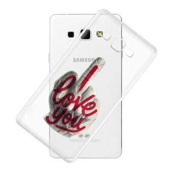 AFTERSHOCK TPU Case Samsung Galaxy J5 2016 (เคสใสพิมพ์ลาย I Love you) / Thin 0.33 mm