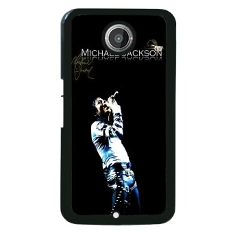 Harga Michael Jackson Pattern Phone Case for Motorola Nexus 6 (Black)