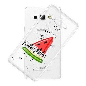 AFTERSHOCK TPU Case Samsung Galaxy J7 2016 (เคสใสพิมพ์ลาย watermelon) / Thin 0.33 mm