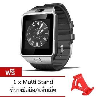 ATM Smart Watch Phone รุ่น DZ09 (สีดำ) กล้องนาฬิกาบูลทูธ ใส่ซิมได้ Bluetooth Smart Watch SIM Card Camera ฟรี ที่วางมือถือ/แท็บเล็ต (คละสี)