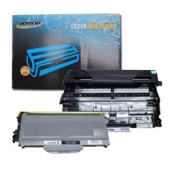 PRITOP Brother 2150/TN-2150/TN2150&2125/DR-2125/DR2125 ใช้กับปริ๊นเตอร์รุ่น Brother-HL-2140/HL-2150n/HL-2170w/DCP-7030/DCP-7040/MFC-7340/MFC-7450/MFC-7840 Pritop