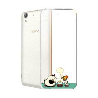 Hug Case TPU เคส Huawei Y6 II เคสโทรศัพท์พิมพ์ลาย Noodle เนื้อบาง 0.3 mm