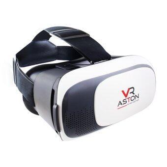 ASTON VR Box แว่นจำลอง 3 มิติ สำหรับสมาร์ทโฟน (Black&White)