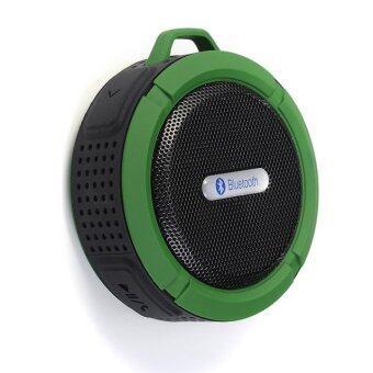 i-Unique Wireless Bluetooth Speaker รุ่น C6 (สีเขียวเข้ม)