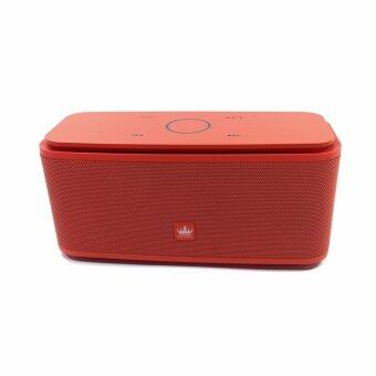 Kingone ลำโพงบลูทูธ bluetooth Speaker รุ่น F8 (สีแดง)