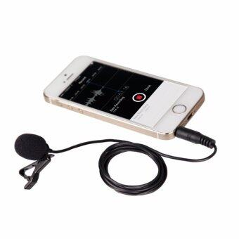 MANNFOTO LAVALIER MICROPHONE MT-MP222 FOR SMARTPHONES, IPAD, IPOD TOUCH ไมค์คลิปติดเสื้อสำหรับโทรศัพท์มือถือ และ IPAD, IPOD TOUCH