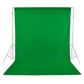 B2H Backdrop Photo lighting studio ฉากผ้ามัสลิน 3x6 เมตร - สีเขียว