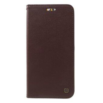 Harga ROAR KOREA Only One Flip Stand Leather Case Cover for Asus Zenfone Max ZC550KL - Coffee - intl
