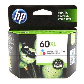 HP หมึกพิมพ์แท้ Ink Cartridge รุ่น CC644WA HP 60xl CO (Color)