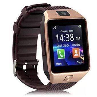 Smart Watch รุ่น DZ09 นาฬิกาโทรศัพท์มีกล้อง (สีทอง)