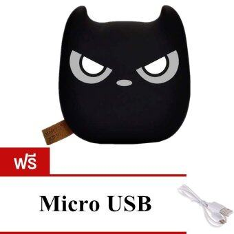 Akiko แบตสำรอง Power Bank ความจุ 20000 mAh รุ่น AnAn (สีดำ) ฟรี Micro USB