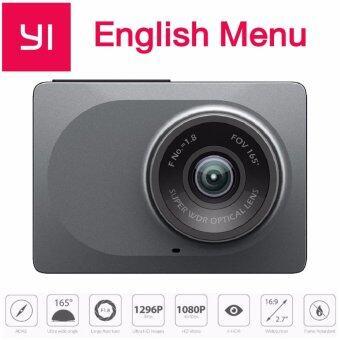 นำเสนอ Xiaomi Yi Dash Cam 1080p car wiFi DVR (เมนูภาษาอังกฤษ)-Gray รีวิว