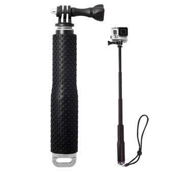 ไม้โกโปร 3 ระดับ แบบกันน้ำ Waterproof handheld monopod for Gopro + SJ4000 (Silver)