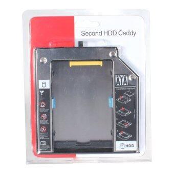 SATA 2nd HDD อะแดปเตอร์แคดดี้ฮาร์ดไดร์ฟสำหรับ IBM Lenovo Thinkpad R400 R500 T420 T520 W520-ระหว่างประเทศ - intl