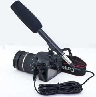 ไมโครโฟน, ไมค์ shotgun, ไมค์ดูดเสียง, ไมค์บูม, ไมค์หัวกล้อง DSLR รุ่น EM-320E