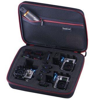 Go pro กระเป๋ากล้อง รุ่น G260sw ขนาดกลางที่มีขนาดใหญ่ - สีดำ โคฟเวอร์โฟมสีดำข้างใน