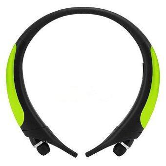 HBS-850 ชุดหูฟังบลูทู ธ แฮนด์ฟรีที่ใช้งานได้สำหรับซัมซุง galaxy iphone7 HTC sony xiaomi (สีเขียว) - intl