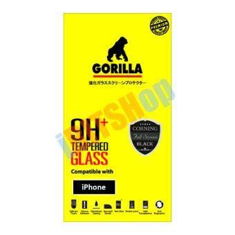Gorilla กระจกนิรภัย แบบเต็มจอ iPhone 6/6s (สีดำ)