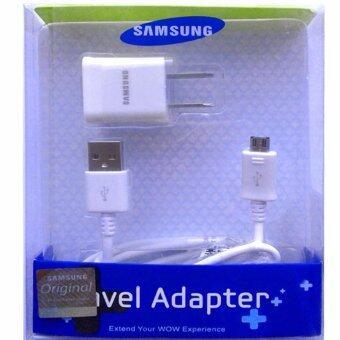 ชาร์ต+สาย Samsung Galaxy J1/J2/J5/J7 Micro USB Data Cable + Home Wall Charger (สีขาว)