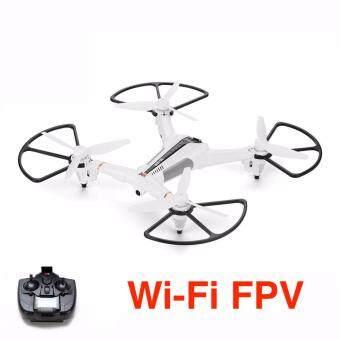 โดรน Drone XK X300 Wi-Fi FPV กล้องมุมกว้าง HD 720p พร้อมระบบล๊อคตำแหน่ง Optical Flow Positioning Quadcopter (สีขาว)