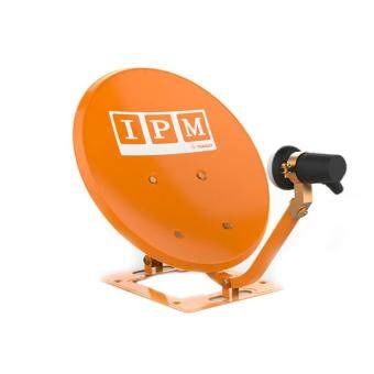 IPM Ku-Band ชุดจานดาวเทียมไอพีเอ็ม 35 cm. + LNB (อุปกรณ์ครบชุด)