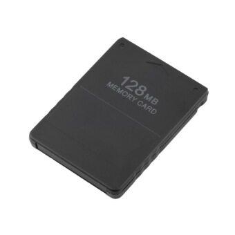 โอไม่ระบุ 128เมกะไบต์หน่วยความจำการ์ดบันทึกข้อมูลเกมติดโมดูลสำหรับ Sony PS2 ป, ล, Playstation ใหม่ (สีดำ)