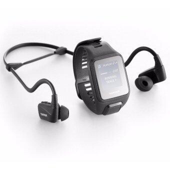 TomTom Spark 3 Cardio + Music + Headphones ( สีดำ L ) นาฬิกาออกกำลังกาย GPS พร้อมหูฟัง Tomtom
