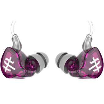 TFZ Series 1S หูฟัง IEM รุ่นล่าสุด บอดี้ metailic สายฉนวนใสแบบใหม่ (สีม่วงใส010)