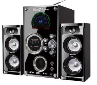 Music D.J. SA-2120 Speaker + F.M.,USB ลำโพงรุ่นSA210 speake ประกันศูนย์