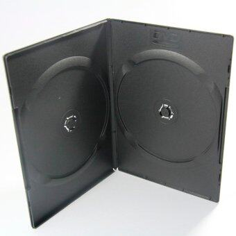 DVD Box Case 2 DVD Slim Black กล่อง DVD กล่องดีวีดีสลิม 2 แผ่น สีดำ (Pack 25 Box)