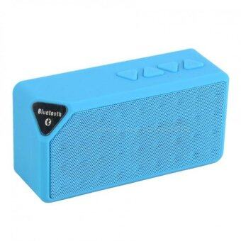 KS ลำโพง Bluetooth speaker รุ่น Mini X-3 (Blue)