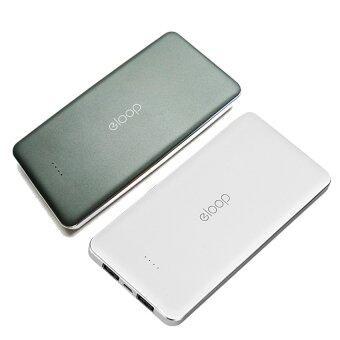 Eloop E13 Power Bank 13000mAh แพ็คคู่ 2 สี (สีดำ/สีขาว)