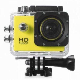 ATM กล้องกันน้ำ Action CamCorder Full HD 1080P WiFi - สีเหลือง