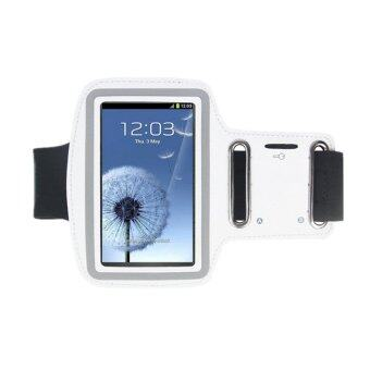 Center สายรัดแขนมือถือ Sports Armband Case Holder for iPhone 6/6S/6Plus(สีขาว)