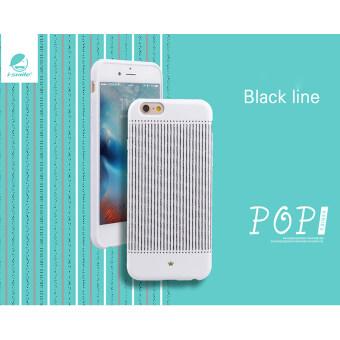 i-smile No. i6P-i001 Pop Series เคส for iPhone 6plus (Black line)