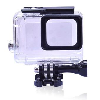 Gopro hero 5 อาคารอุปกรณ์ดำน้ำใต้น้ำกันน้ำป้องกันฝาเคสสำหรับ GoPro Hero 5 กล้องอีก