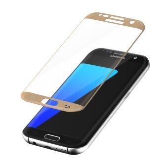 โกรธกันรอยหน้าจอกระจกสำหรับ Samsung Galaxy S7 Edge (ทอง)