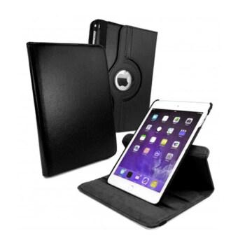 Case Phone เคสกระเป๋าตั้งได้ ไอแพดแอร์ 1 รุ่น หมุน360องศา For iPad Air1 360 degree rotating (สีดำ)