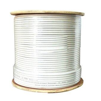 Mastersat สาย RG6 ชิลล์ 95% PVC 6.9 mm. ยาว 305 เมตร รุ่น CC30595 (สีขาว)