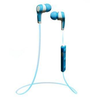 i-Unique หูฟัง Bluetooth รุ่น MS-B5 (สีฟ้า)