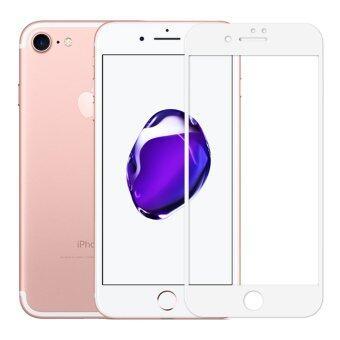 Cessory ฟิล์มกระจกนิรภัย เต็มจอ iPhone 7 (4.7นิ้ว) 0.26mm 2.5D ขอบมน (สีขาว)