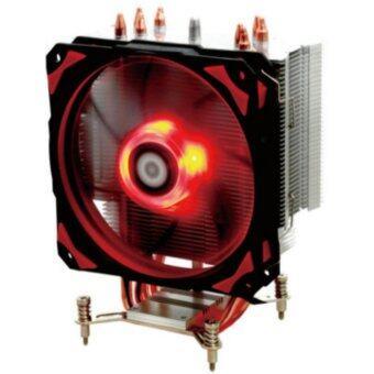 ID-COOLING SE-214 พัดลมระบายความร้อน CPU Heatsink For Intel / AMD ฮีตซิงก์ (Red LED)