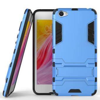 โทรศัพท์ลูกผสม BYT TPU+PC Neo เคสสำหรับ Vivo Y55 (สีน้ำเงิน)