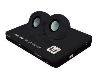 Enjoy เครื่องเล่นดีวีดี พร้อมลำโพงขยายเสียง 1 คู่ ENJOY รุ่น SD-835 ( สีดำ )