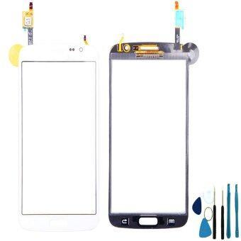 ขาวสำหรับ Samsung Galaxy แกรนด์ 2 G7102 G7105 G7106 หน้าจอสัมผัสดิจิทัล+เครื่องมือ