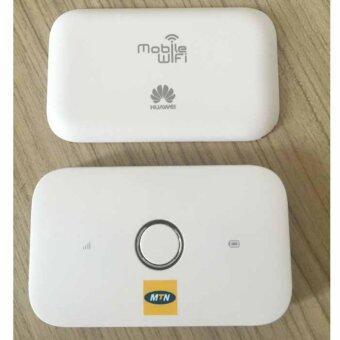 Huawei New Arrival Unlocked Huawei E5573 white 4G Pocket WiFi ใช้ได้กับ แอร์การ์ด โมบายไวไฟ ไวไฟพกพา AIS/DTAC/TRUE Unlocked Router mobile wifi