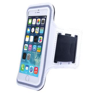 SAVFY อาร์มแบรนด์ ที่รัดแขนใส่โทรศัพท์ iPhone 6/6S/7 (สีขาว)