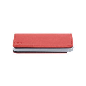 Aeskimo เคสมือถือแบบไร้ขอบ รุ่น Air Cover for iPhone SE / 5S / 5 - สีแดง Salmon Red