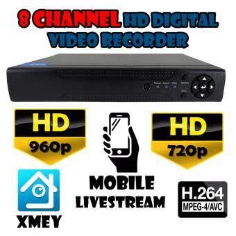 DVR / NVR CCTV เครื่องบันทึกภาพ 8 ช่อง AHD TVI IP ANALOG 960H / 720p HD และอนาล็อก AHD 1.3 ล้านพิกเซล